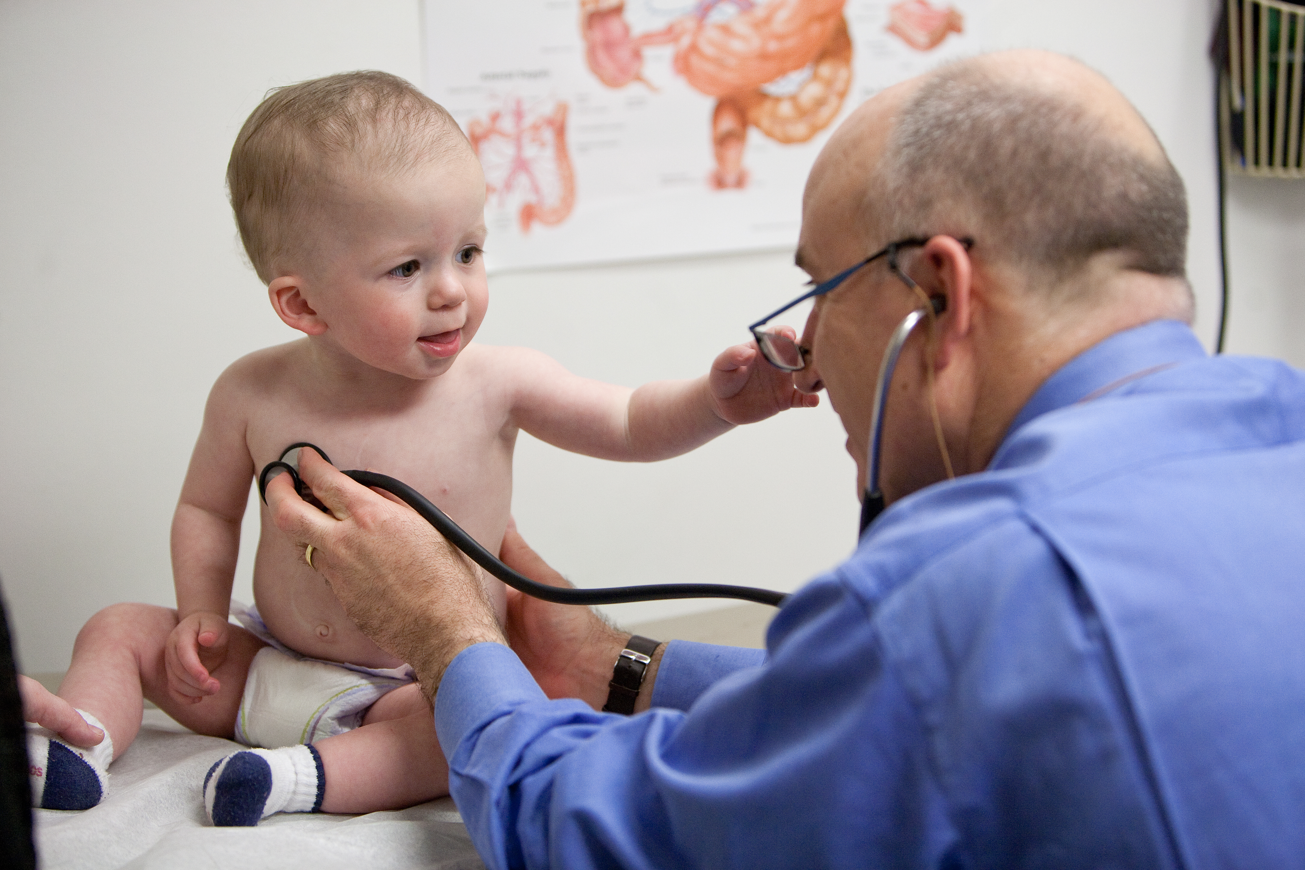 department highlights department of pediatrics college of jim beau reinhardt recieves a check up from university of florida pediatric surgeon david w