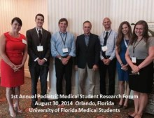 UF Medical Students and Faculty at the Forum.