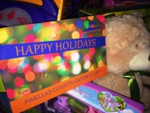 Pinellas County Gator Club's holiday party benefits UF Health Shands Children's Hospital